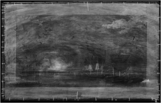 Harbor of Boston x-ray