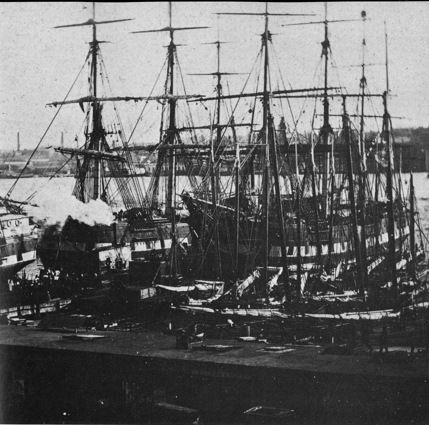 Resultado de imagen de New york port 1861