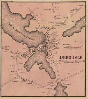 Fitz Henry Lane Castine Maine 1856 Inv 52 Catalog Entry