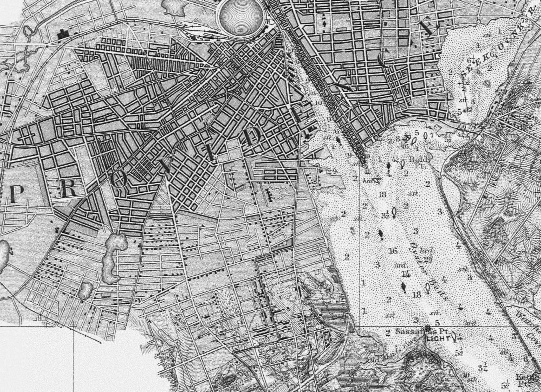 Fitz Henry Lane   View of Providence, R. I. 1848, 1849–52 (inv. 485 ...