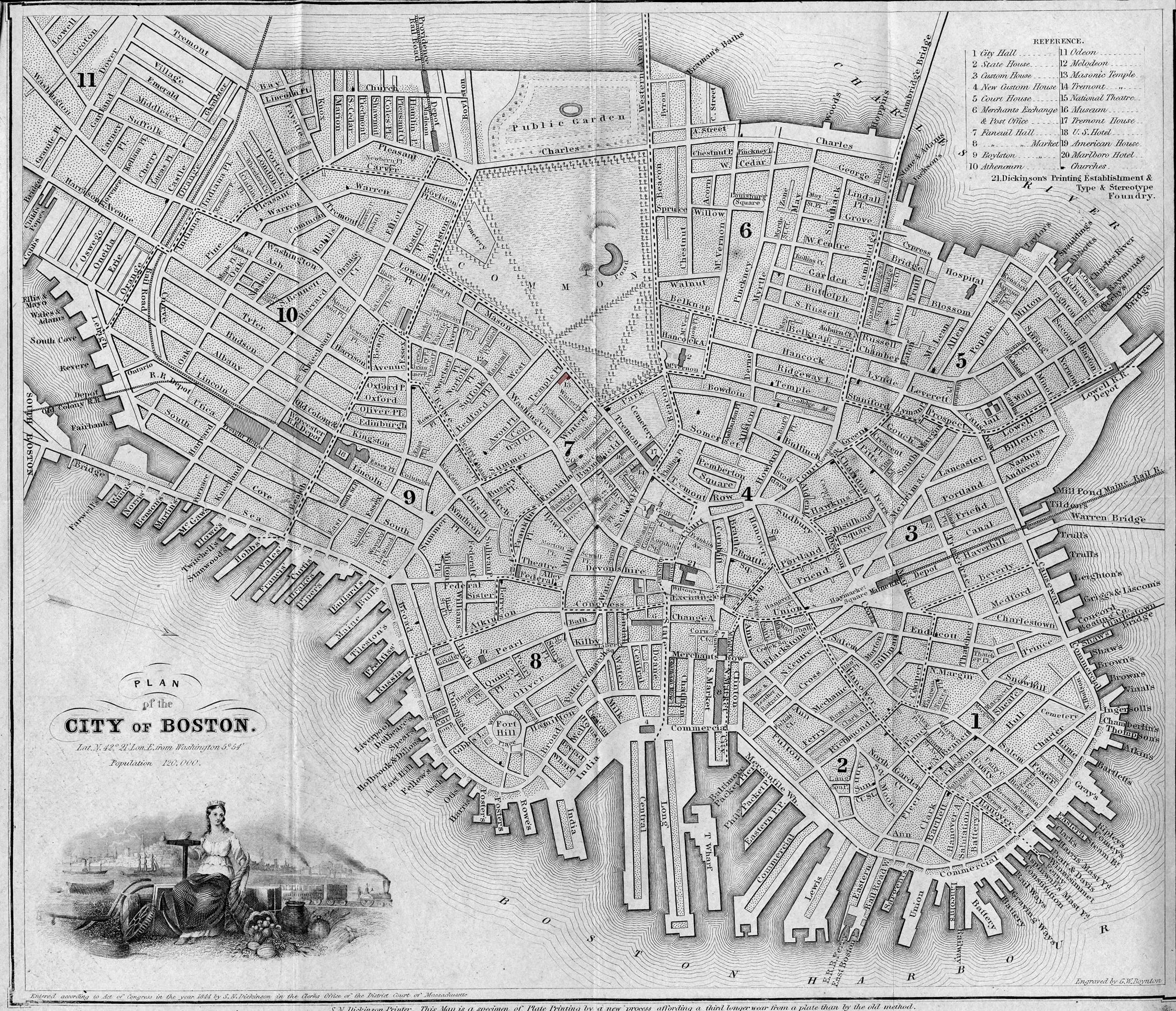 fitz henry lane boston harbor c 1850 inv 48 catalog entry