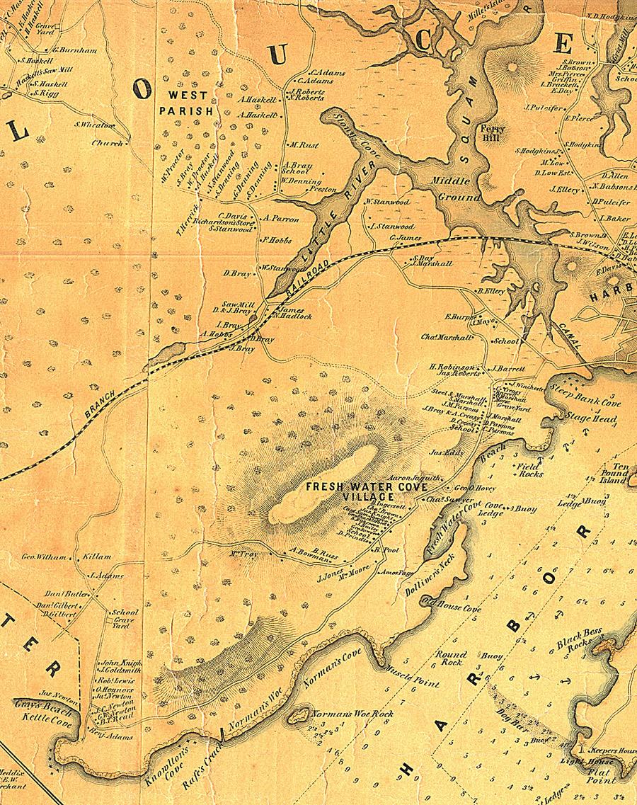Fitz henry lane historical materials map nvjuhfo Choice Image