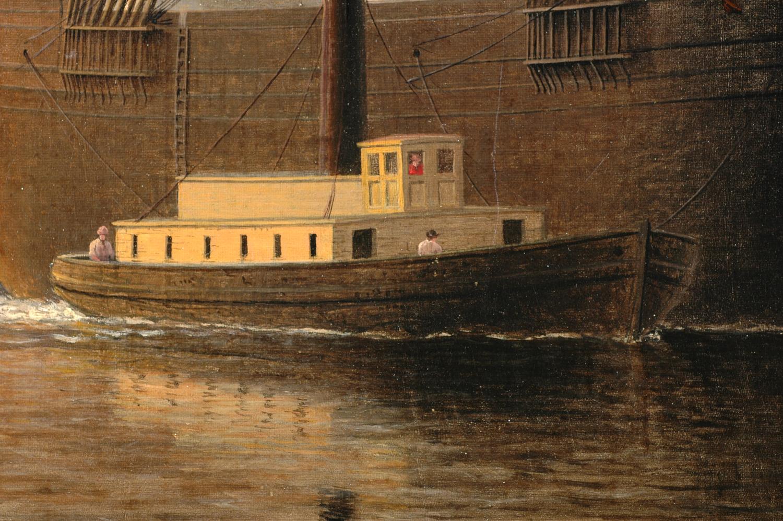 Fitz Henry Lane | New York Harbor, c  1855 (inv  46